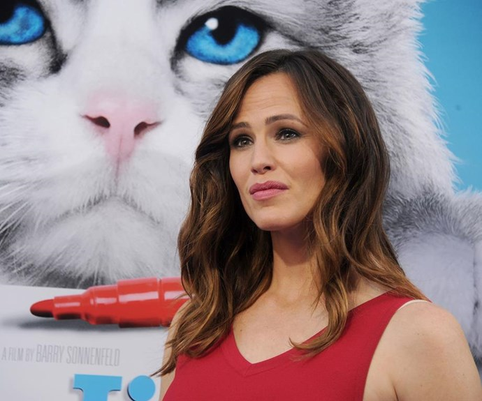 """Jennifer Garner compared her interview questions with those of then-husband Ben Affleck.  """"Every single person who interviewed me - and this is true of the red carpet here tonight, *Elle* - asked me, 'How do you balance work and family?' and he said the only thing that people asked him repeatedly was about the tits on the 'Blurred Lines' girl, which, for the record if we're talking about them, they are real and they are fabulous... As for work-life balance, he said no one asked him about it that day. As a matter of fact, no one had ever asked him about it. And we do share the same family. Isn't it time to kinda change that conversation?"""""""