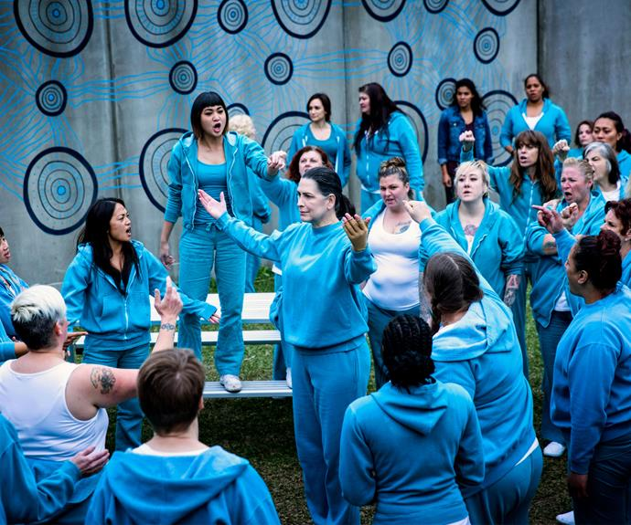 "**THE FREAK GOT YOUR TONGUE (season 5, episode 6):** To become Top Dog in prison, Joan ""The Freak"" Ferguson (Pamela Rabe) demonstrated her ruthless capabilities. She cut out the tongue of fellow inmate Juice (Sally-Anne Upton) earning her begrudging respect and fear from her fellow prisoners."