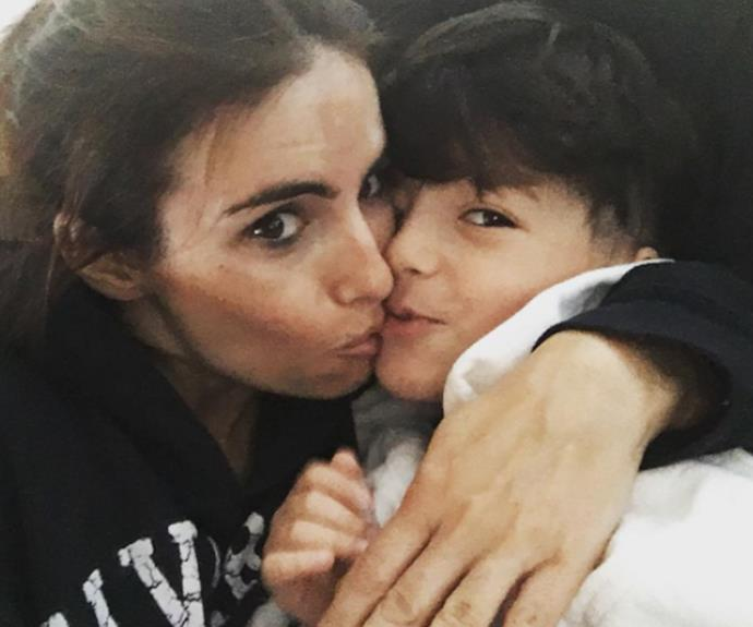 "Cranking up the cuteness in yet another super-sweet Insta post, [Ada Nicodemou](http://www.nowtolove.com.au/tags/ada-nicodemou|target=""_blank"") snuggles with her almost-five-year-old son, Johnas. She captioned the touching pic: ""Nothing beats morning cuddles."" And we couldn't agree more!"