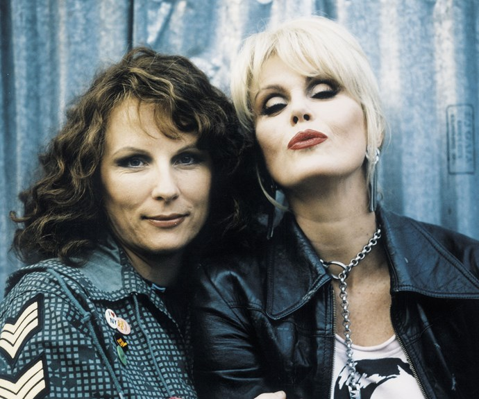 **Edina & Patsy (*Absolutely Fabulous*):**  Self-destructive besties Edina (Jennifer Saunders) and Patsy (Joanna Lumley)  aren't great examples on how to live a healthy life, but they always had a great time together, so hey, who are we to judge?