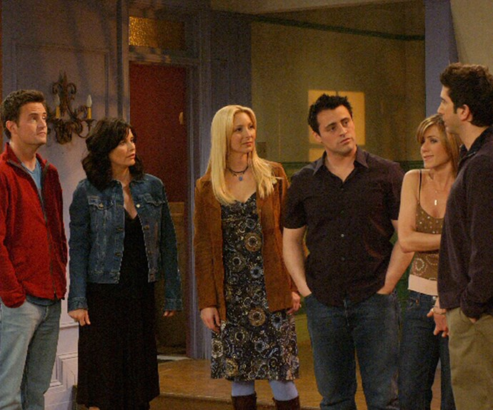 **Chandler** (Matthew Perry), **Monica** (Courtney Cox), **Phoebe** (Lisa Kudrow), **Joey** (Matt Le Blanc), **Rachel** (Jennifer Aniston) **& Ross** (David Schwimmer) **(*Friends*):**   This is the gang we always wish we were apart of and still enjoy their adventures over a decade after the show finished. Coffee at Central Perk, anyone?