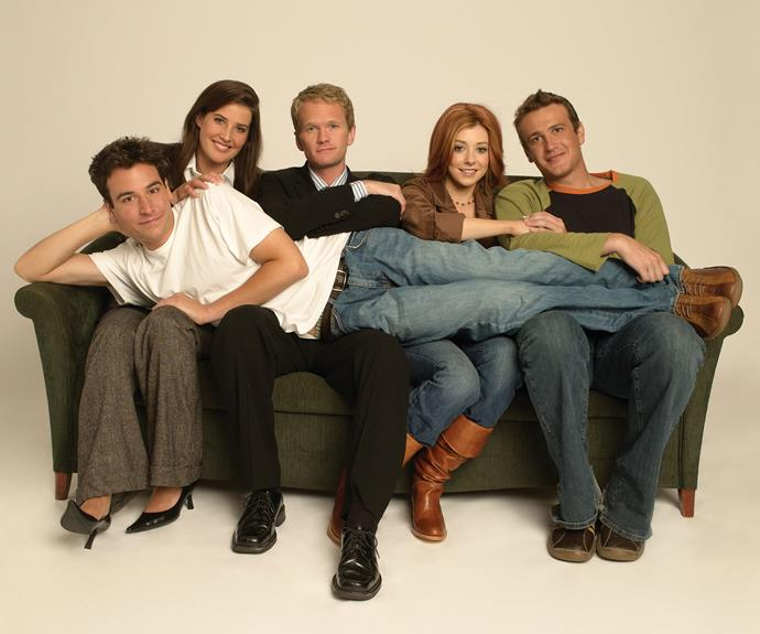 **Robin (Cobie Smulders), Ted (Josh Radnor), Barney (Neil Patrick Harris), Lily (Alyson Hannigan) and Marshall (Jason Segel) (*How I Met Your Mother*):**  This group of friends got up to some real mischief together whilst Ted looked for his future wife. The *HIMYM* gang run a close second to the *Friends* crew on who we wish we could be real-life friends with!