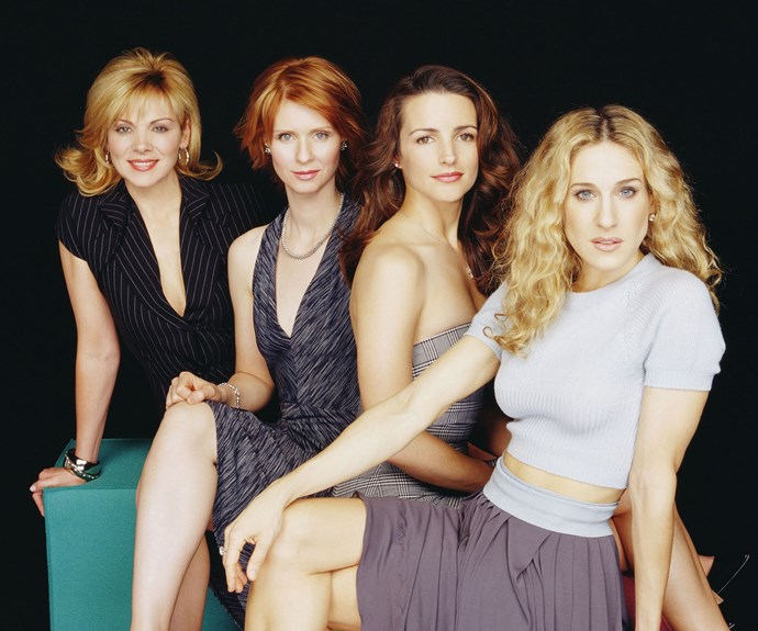 **Samantha (Kim Cattrall), Miranda (Cynthia Nixon), Charlotte (Kristin Davis) and Carrie (Sarah Jessica Parker) (*Sex And The City*):**  The show that revolutionized the way women's friendships were displayed on-screen, the four *SATC* friends ride the highs and lows of life together.