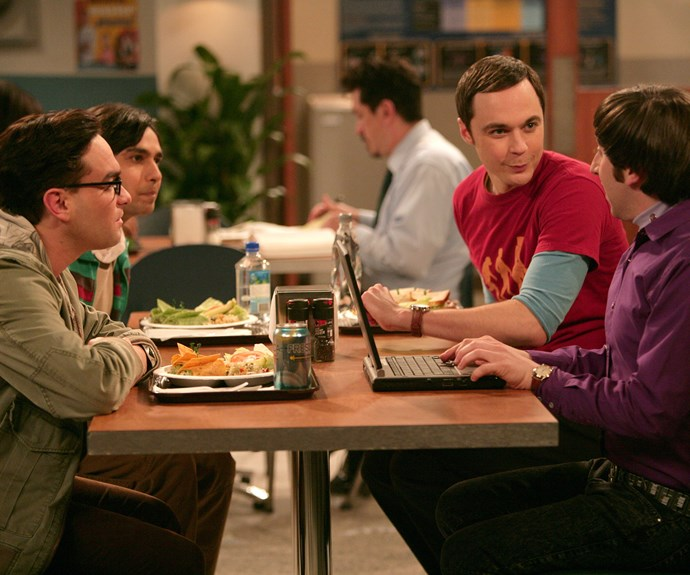 **Leonard, Raj, Sheldon and Howard (*The Big Bang Theory*):**  Probably one of TV's more bizarre friendship groups, these scientists stick together. Best of all, Leonard (Johnny Galecki), Raj (Kunal Nayyar) and Howard (Simon Helberg) put up with the MANY idiosyncrasies of Sheldon (Jim Parsons). That's true friendship!