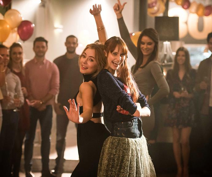 **Lily and Simone (*The Wrong Girl*):**  Besties and flatmates Lily (Jessica Marais) and Simone (Hayley Magnus) are both trying to navigate their way through life and even when things get a little tough, they manage to stick together.
