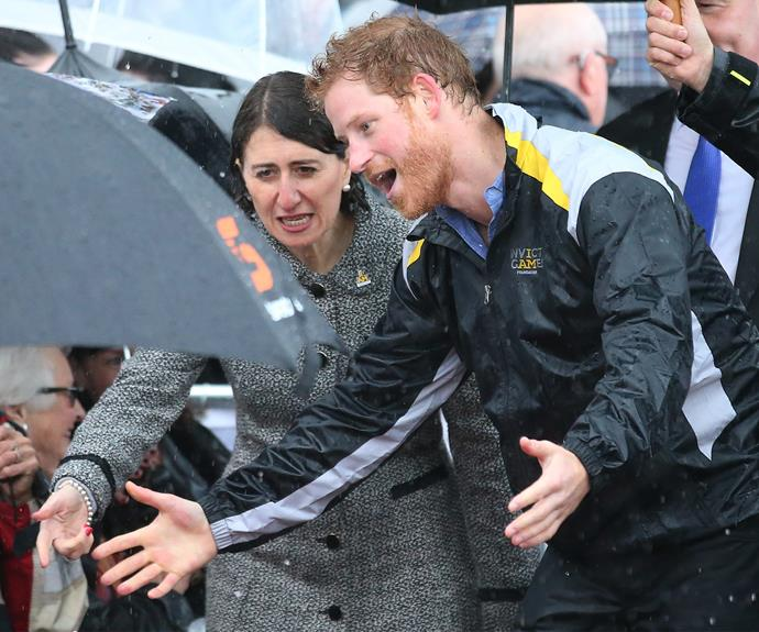 "In 2017, Harry returned for a whistle-stop trip to Sydney to [launch the 2018 Invictus Games.](https://www.nowtolove.com.au/royals/british-royal-family/prince-harry-launches-the-invictus-games-in-sydney-38105|target=""_blank"")"
