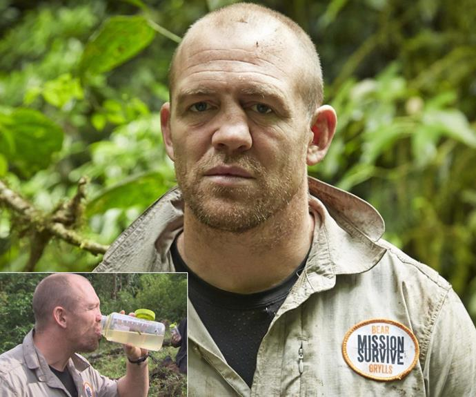 Fans have already seen Mike on the TV, after he starred on Bear Grylls reality show *Mission Survive*.