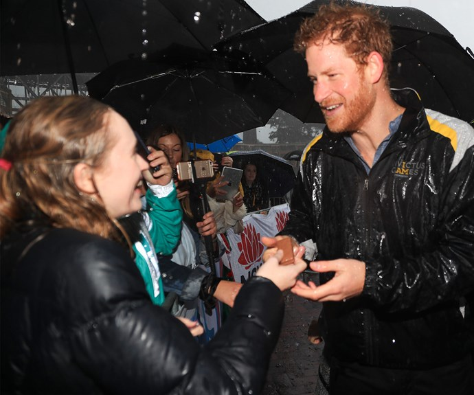 During meet-and-greets with the general public, royals are forbidden to eat food given to them.