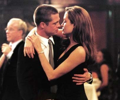 Back to the very beginning: Brad and Ange in *Mr & Mrs Smith*.