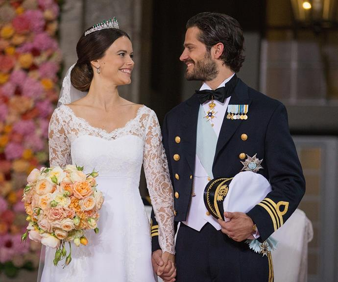 Prince Carl and Princess Sofia tied the knot on June 13, 2015.