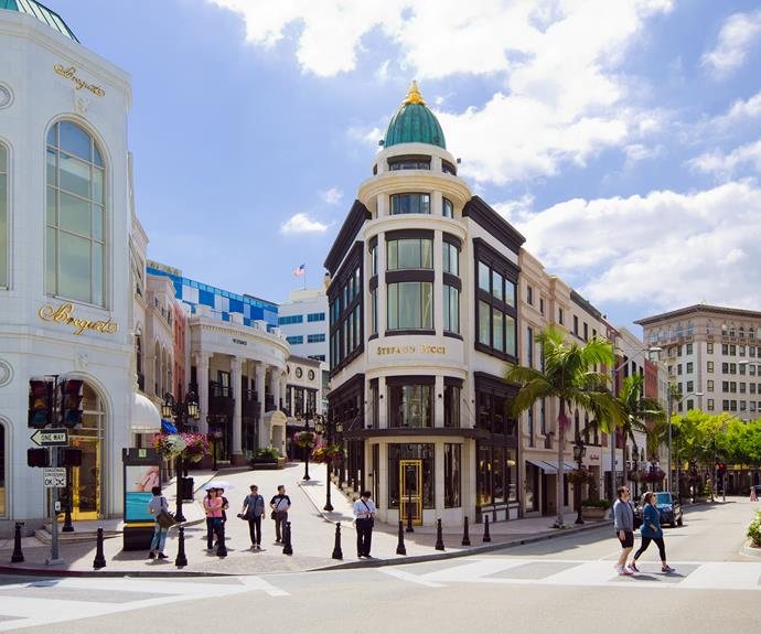 Track down the best of the best on Rodeo Drive.
