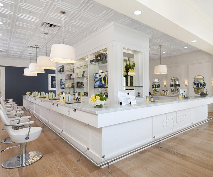 The Drybar is *the* place to have your hair done.