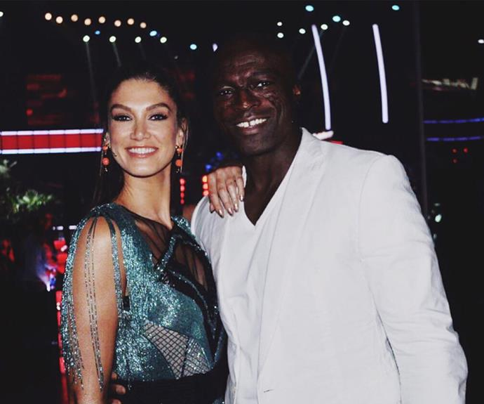 Delta will undoubtedly miss working with Seal.