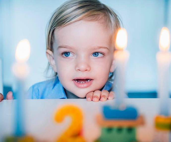 """Princess Madeleine also posted these cheeky outtake photos on the official Facebook [page](https://www.facebook.com/PrincessMadeleineOfSweden/ target=""""_blank"""" rel=""""nofollow""""), captioning the sweet images: """"Happy 2nd Birthday Sweet Nicolas! We couldn't have wished for a kinder and warm hearted boy ❤"""""""