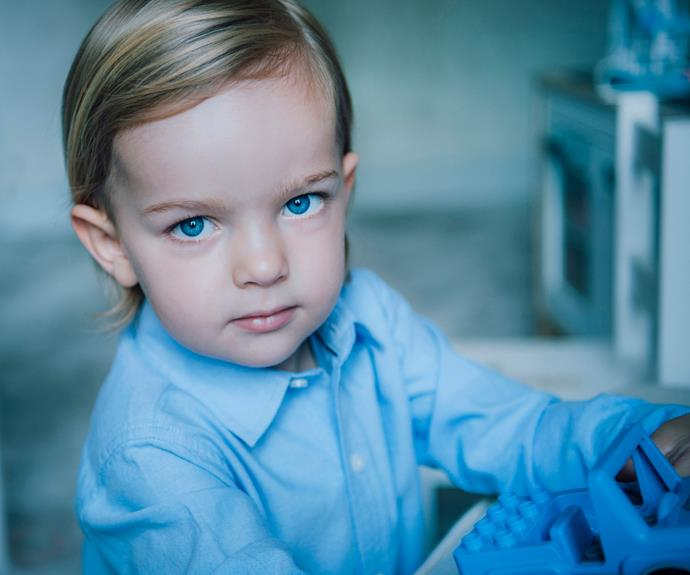 "Princess Madeleine of [Sweden](http://www.nowtolove.com.au/tags/swedish-royal-family|target=""_blank"") celebrated her son Prince Nicolas' 2nd birthday with two adorable official photographs released on the Swedish royal palace [website](http://www.kungahuset.se/2.1c3432a100d8991c5b80001816.html