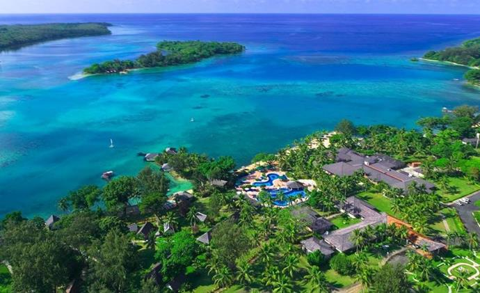 Don't let the 4.5-star rating fool you; Warwick Le Lagon Vanuatu is the kind of luxe child-friendly you'll want to book ASAP.
