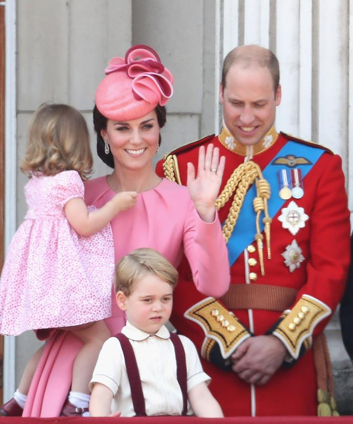 The last time we saw the Cambridges all together was at Pippa Middleotn's wedding.