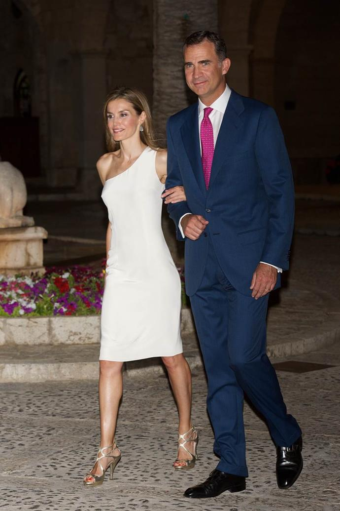 King Felipe VI of Spain and Queen Letizia of Spain.