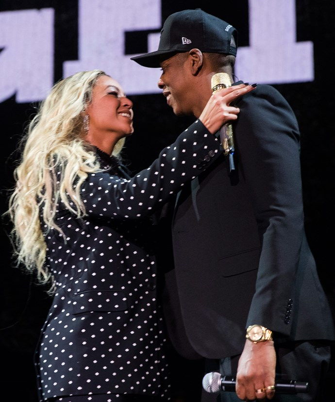 Beyonce and Jay Z have reportedly welcomed a son and daughter.