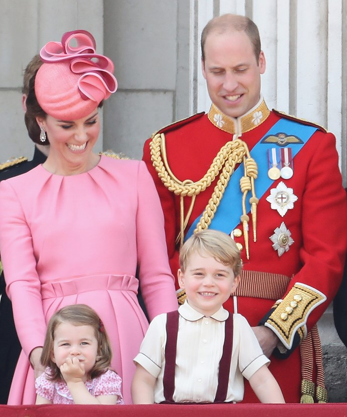 The Cambridges were a balcony highlight in 2017.