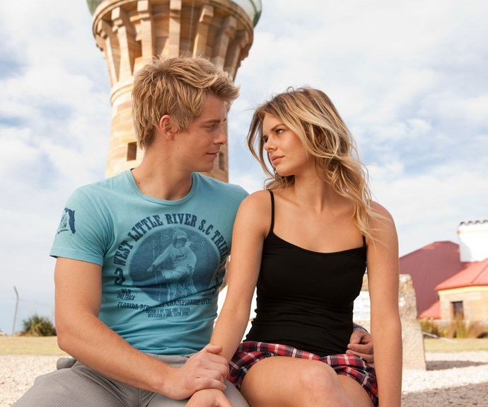 **Indi and Romeo:** Indi (Samara Weaving) and Romeo (Luke Mitchell) were married twice and broke up three times! They eventually worked things out, but then Romeo was diagnosed with melanoma. Instead of telling Indi, he leaves her in the middle of the night. Months later it was revealed that he passed away.