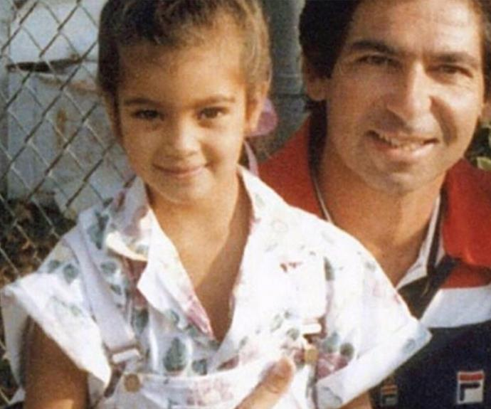"The reality star also shared a message to her late father Robert Kardashian, who lost his life to esophageal cancer in 2003. ""God I am so lucky you were my dad. I remember right before you passed away I thanked you for everything you taught me & I told you I would raise my kids with everything I learned from you, whenever that time would come. Well I kept my promise dad! Thank you for being the best!"""