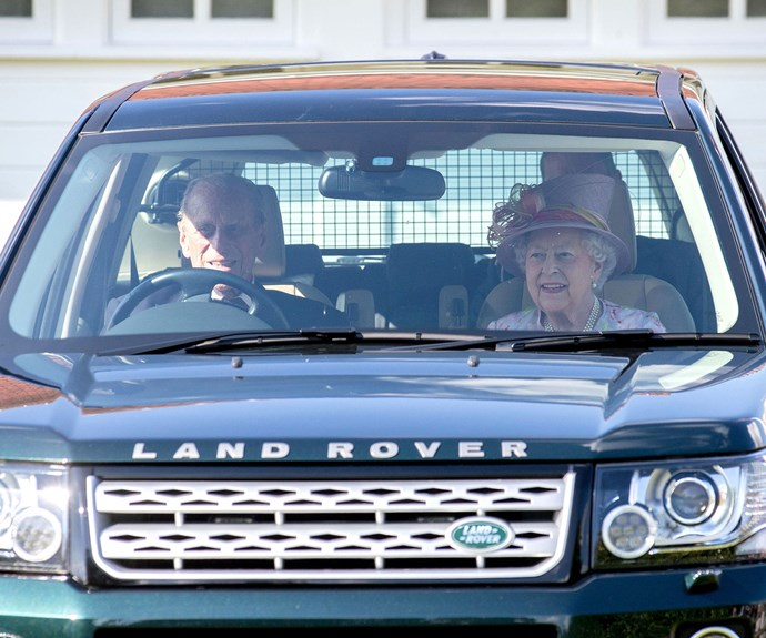 Prince Philip even drove the Queen home from the event. At 96, the royal shows no signs of giving up his prized Land Rover.