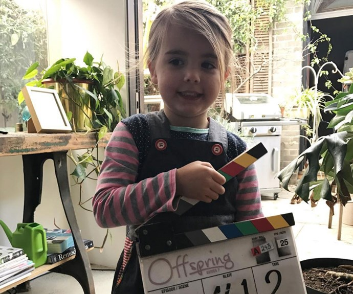 The gorgeous Isabella Monaghan plays Zoe on the series. Credit: elizaandisabella
