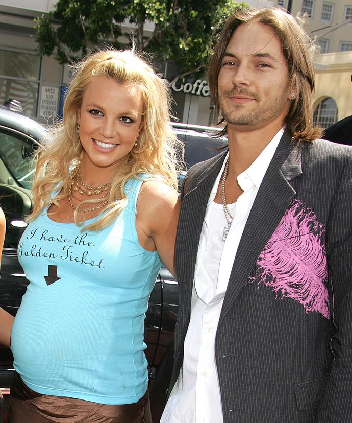 In October 2007, Britney lost physical custody of her children to Federline.