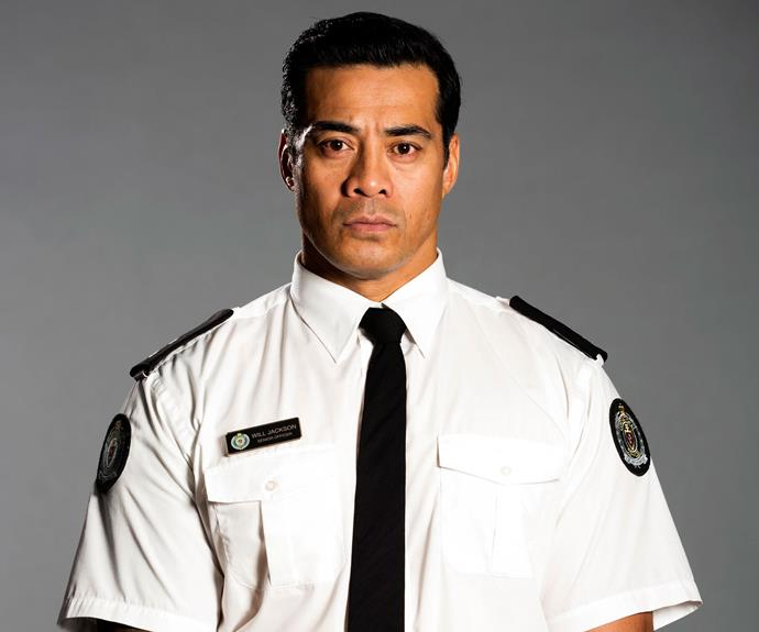 **Guard Will (Robbie Magasiva):** His closest ally, Vera, turned against him after he implicated Jake in a drug operation. He wants to stop the import of drugs and has become close friends with inmate Kaz (Tammy McIntosh).