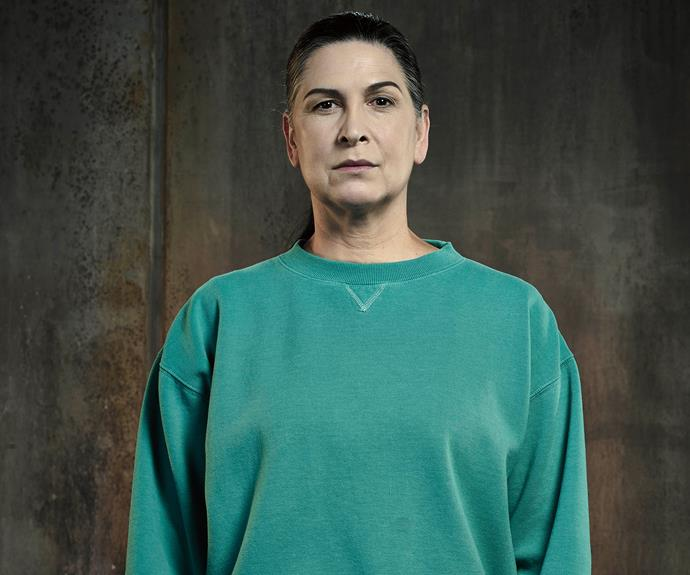 **Top Dog Joan (Pamela Rabe):** The queen bully of the yard. Joan's reign is one of intimidation and violence. But the women baying for her blood are starting to get a bit more vocal.
