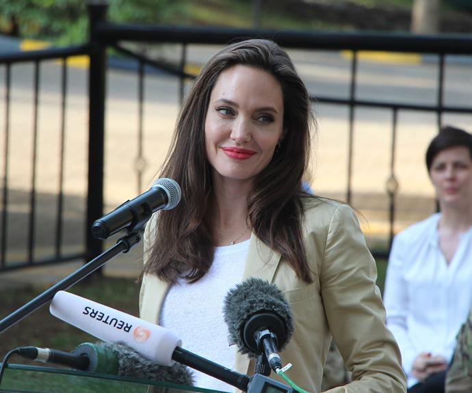 UNHCR Special Envoy Angelina Jolie marked World Refugee Day 2017 visiting adolescent refugee girls in Nairobi.