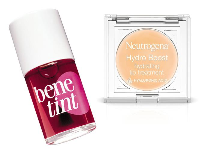 Two of Nicole's beauty essentials.