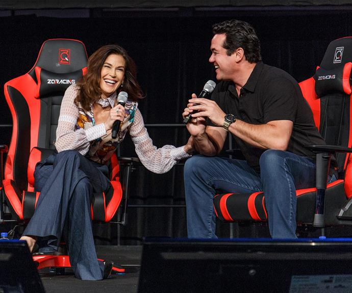 Teri Hatcher and Dean Cain reunited in Sydney for Supernova Comic Con & Gaming expo.