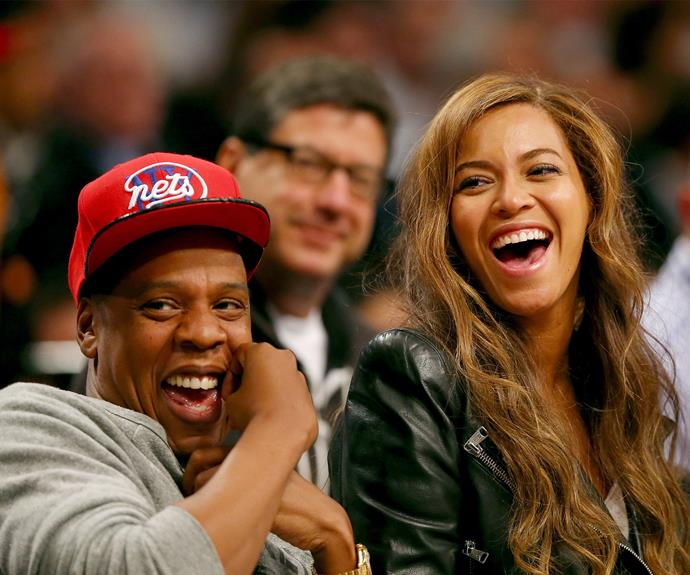 Bey and Jay's face when they realise they took us for a ride...