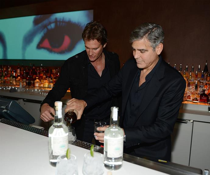 George and Rande originally made the drink for themselves, to enjoy privately.
