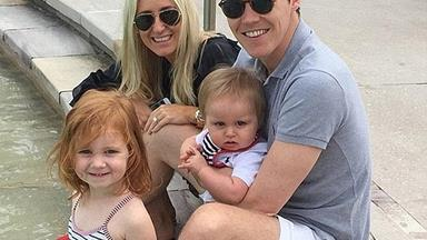 Oliver Curtis shares first family photo since his release from prison