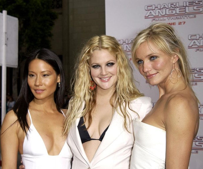 """Two of Charlie's Angels actually met long before the 2000 film. When Drew was only 14 and Cameron 16, they met in a coffee shop and Drew was instantly impressed with the model's charming personality. The pair still likes to """"bro out"""" and Cameron quickly shut down Kyle Sandilands in 2014 when he made jokes about Drew's past."""
