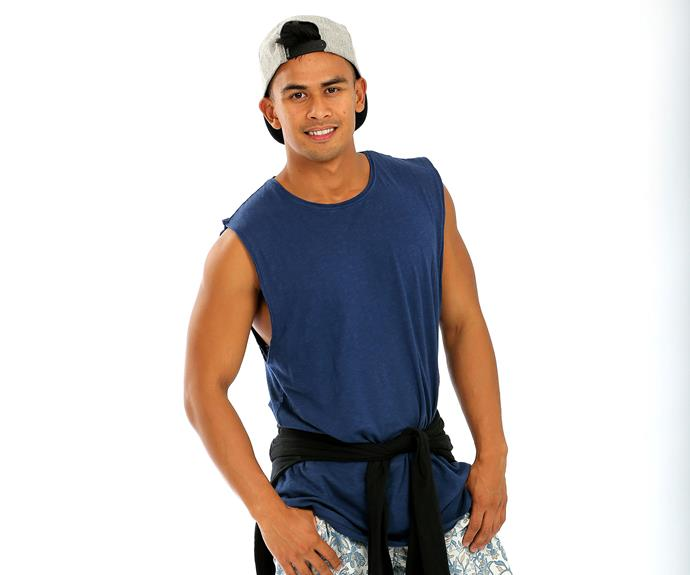 **Jericho, 25, Flight Attendant, Victoria:** From the Philippines to Auckland and now Melbourne, Jericho is used to being the new kid in town. But instead of letting his guard down quickly, on *Australian Survivor* he will be pretending to be someone else entirely. A mega-fan of Survivor, Jericho has his game plan mapped out and is not afraid to show his darker, more competitive side.