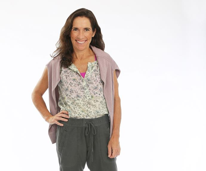 **Kate, 47, Financial Executive, Victoria:** Kate is a successful businesswoman who has lived all over the world, including Västervik in Sweden, Toronto, New York and now Melbourne. After recently resigning from a 17-year career with a global investment bank, Kate is now looking for her next career opportunity and thought she would give *Australian Survivor* a crack in the meantime. Kate wants to be a role model for young women, especially her children, who helped her apply for the series.