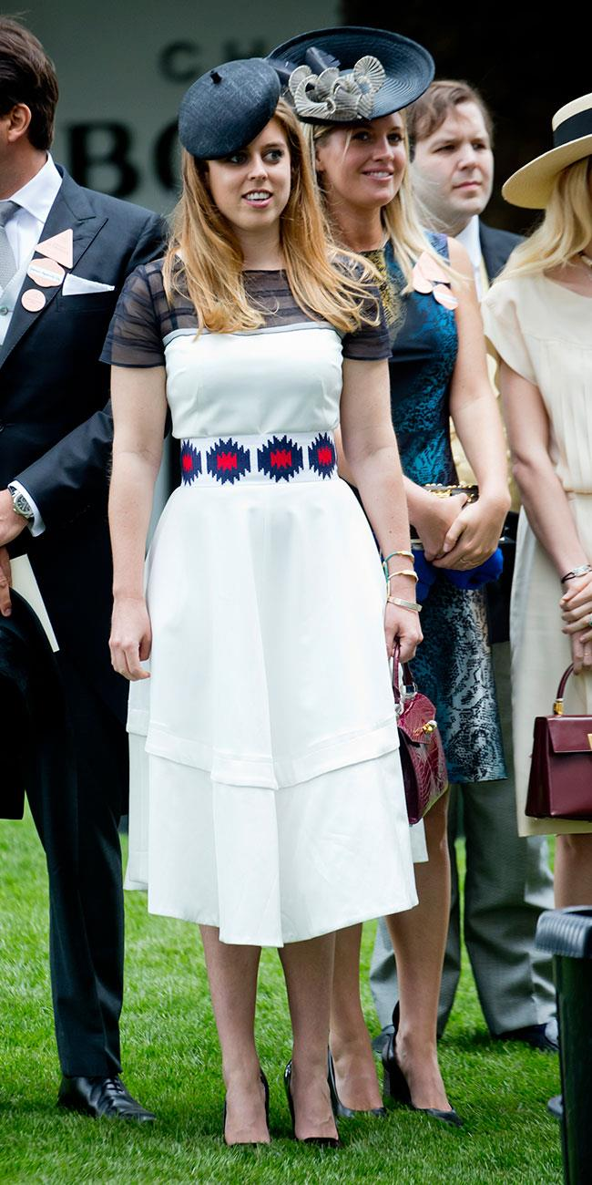 **9. Princess Beatrice.** This more modern look was a winning way to round off day five.