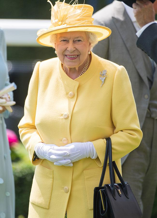 **2. Queen Elizabeth.** All five of The Queen's outfits were impressive, but this cheery yellow one is our favourite. Consider your day brightened!