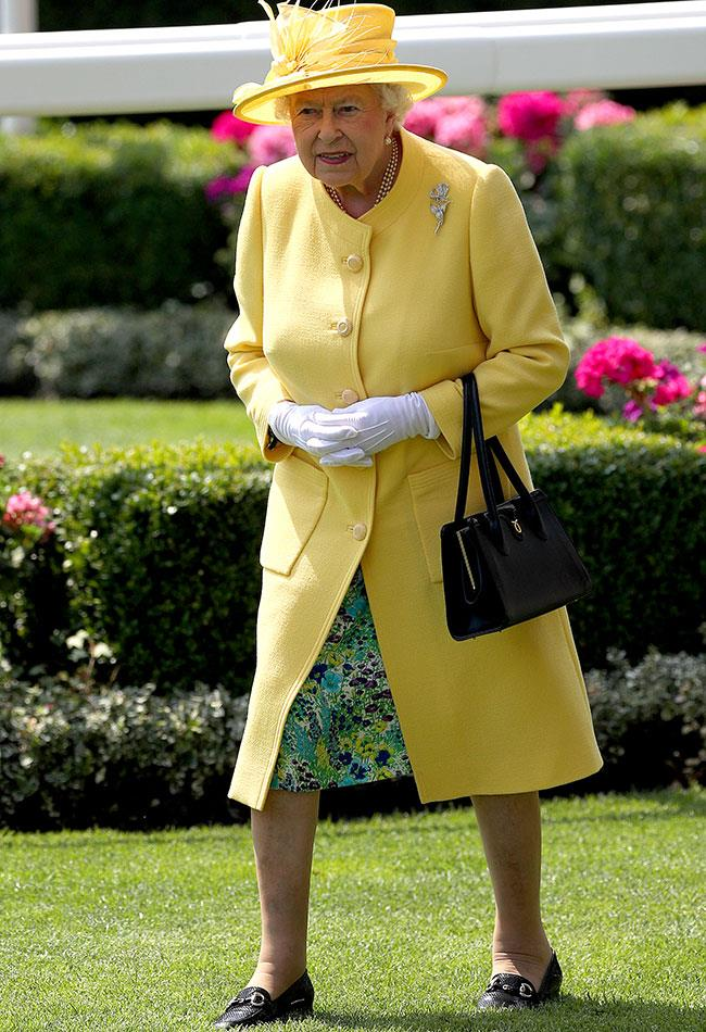 HRH winning the style stakes.