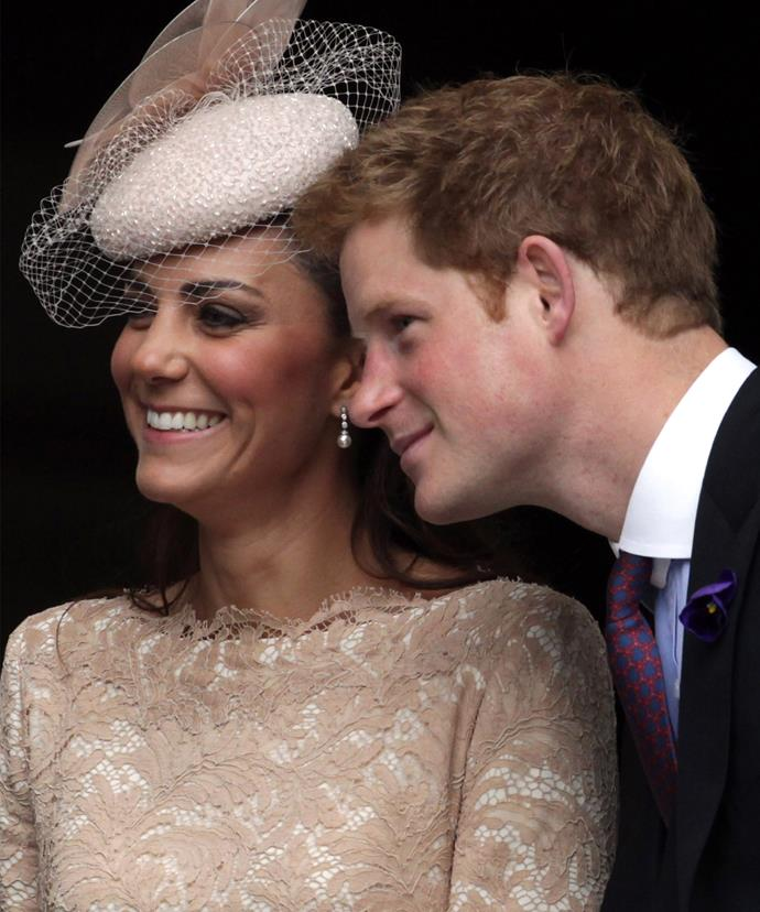 "Harry describes Kate as his ""big sister""."