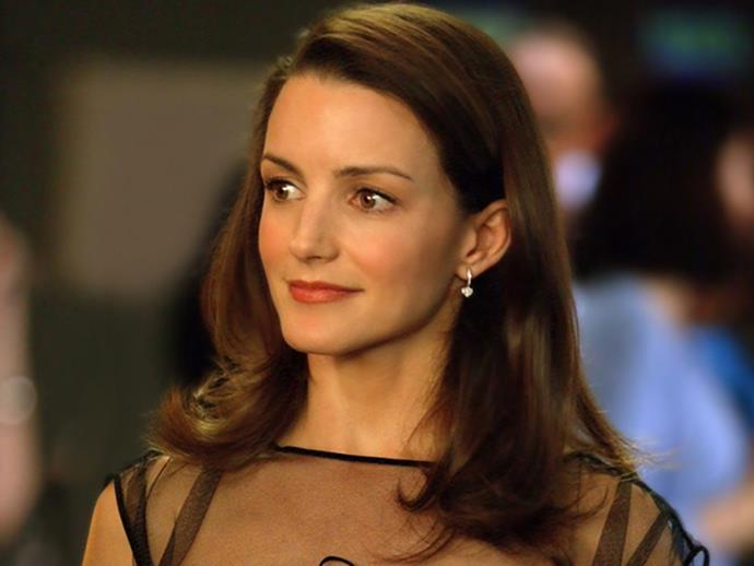 Kristin Davis as Charlotte York in *Sex and the City* in 2003.