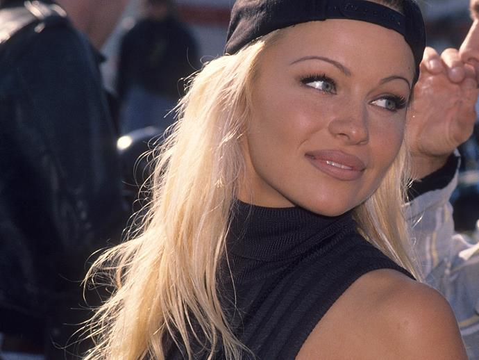 **1994:**  Pammie quickly became a fan favourite and with *Baywatch* internationally syndicated, fans all over the world knew her name and just couldn't get enough. As such producers were quick to capitalise on her fame and started offering her film roles, her first of which was *Raw Justice*.