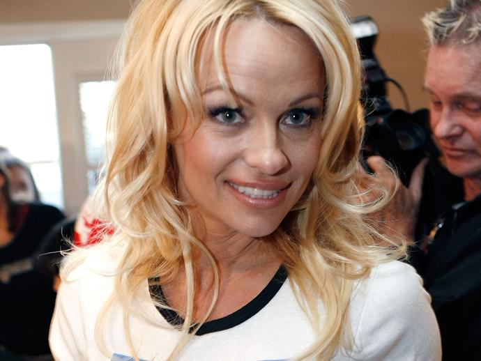 """**2007:** Pammie focused on her charity work with this organisation in the early 2000s. In 2003 she even [stripped nude for PETA's](http://www.nowtolove.com.au/celebrity/celeb-news/pamela-anderson-stips-down-for-peta-advertisement-4733) """"I'd Rather Go Naked Than Wear Fur"""" ad campaign. She also reprised her role as C.J. in the 2003 TV movie *Baywatch: Hawaiian Wedding* and dated musician Kid Rock during this period. While she had a lot going on, one thing ultimately stayed the same - Pammie's Barbie doll meets grunge signature look."""