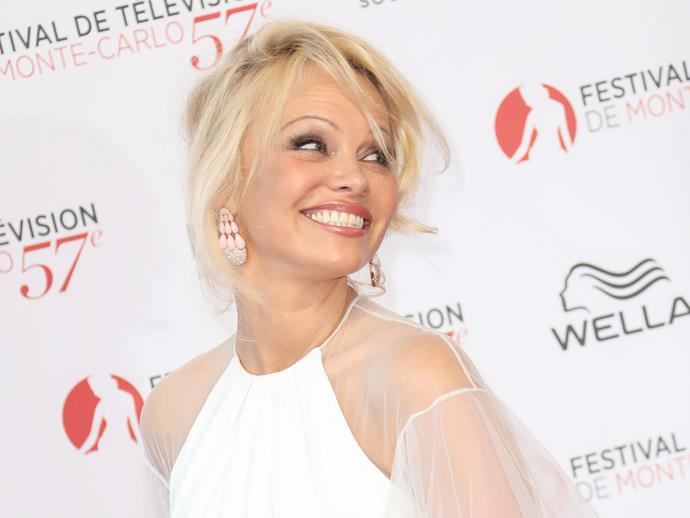 While some speculate she's had [plastic surgery](http://www.nowtolove.com.au/beauty/ageing/pamela-anderson-face-younger-plastic-surgery-37644) such as filler, her most recent appearance at the Monte Carlo TV Festival and World (pictured here) this week proves it's really just great styling more than anything. Simply gorgeous. Happy birthday, Pamela!
