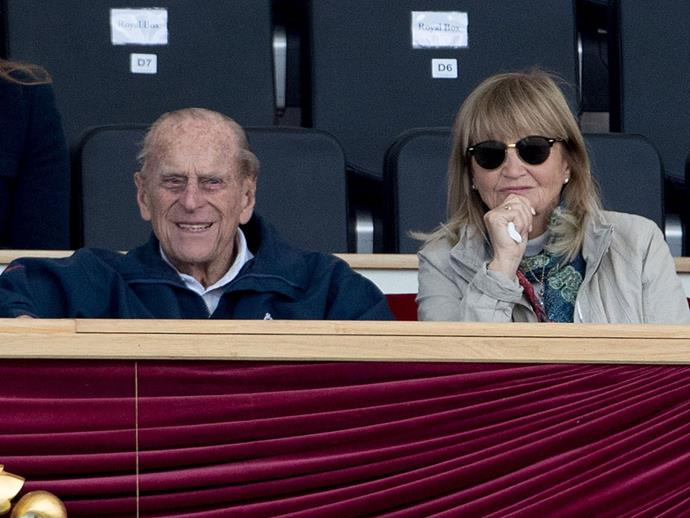 Prince Philip was seen in the stands watching and cheering his granddaughter on, no doubt pleased that she has taken up a sport he loves so much. Perhaps Lousie was inspired by his book about the equestrian event called *30 Years On and Off The Box Seat*, released in 2004.