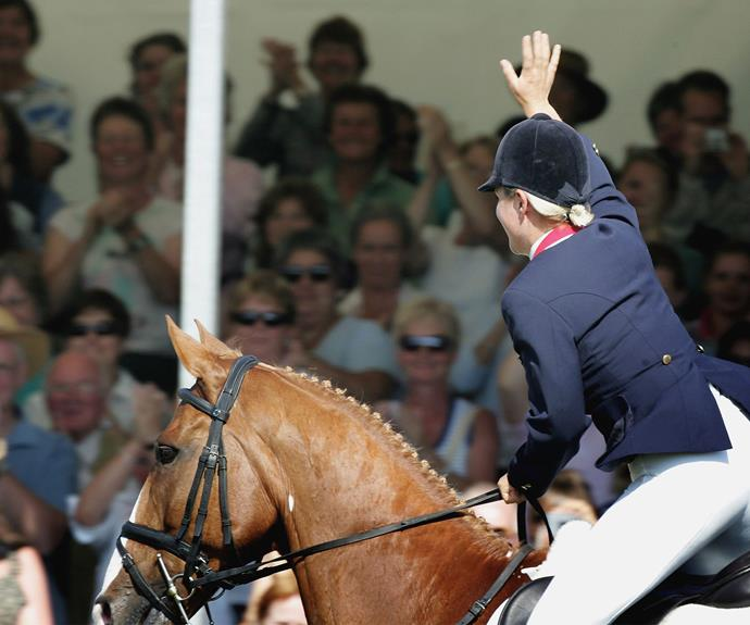 The victorious pair at the 2006 World Equestrian Games in Germany.